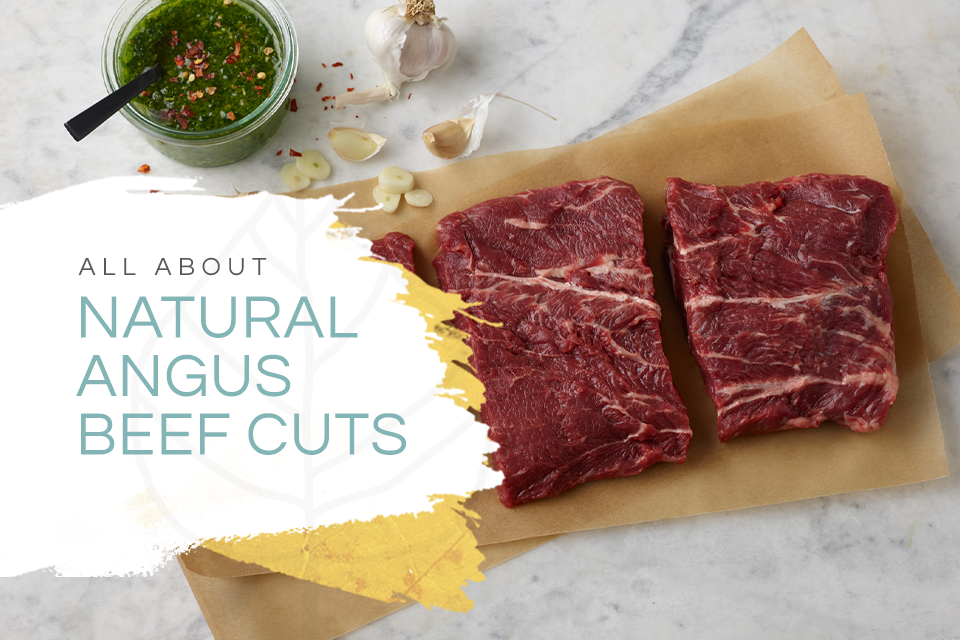All about Natural Angus Beef Cuts